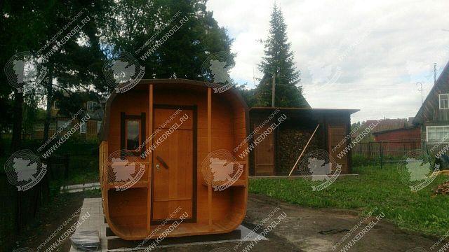 перевозные бани 5 метров